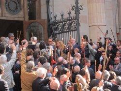 El TSJC multa Manos Limpias amb 3.000 euros per difondre la declaració judicial de Mas (EUROPA PRESS)