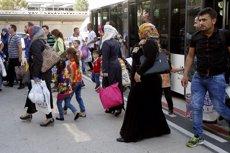Arriben a Espanya 155 refugiats sirians procedents del Líban (MINISTERIO DEL INTERIOR)