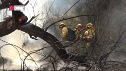 L'incendi d'Artana (Castelló) ja afecta 1.000 hectàrees (EUROPAPRESS)