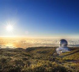 Se observa una supernova que parece explotar dos veces (EUROPA PRESS/IAC)
