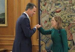 AMP.- Ana Pastor confirma que el Rei ha fet una proposta formal d'investidura i parlarà amb Rajoy per fixar terminis (CASA DE S.M. EL REY)