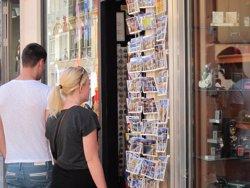 Espanya va rebre 32,8 milions de turistes internacionals en el primer semestre, un 11,7% més (EUROPA PRESS)