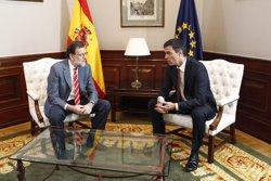 Rajoy i Sánchez es reuniran dimarts que ve al Congrés (EUROPA PRESS)