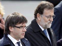 Rajoy trasllada a Sánchez, Rivera i Iglesias els plans per frenar el procés sobiranista (ARCHIVO)