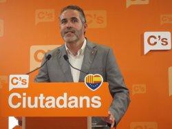Soler (C's) diu que demanaran al PP impulsar el Corredor Mediterrani (EUROPA PRESS)
