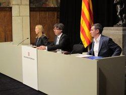 Puigdemont se solidaritza amb les víctimes del terratrèmol d'Itàlia (EUROPA PRESS)