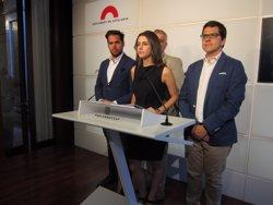 Arrimadas (C's) critica el PSOE per demanar responsabilitat al PP en l'anterior legislatura i