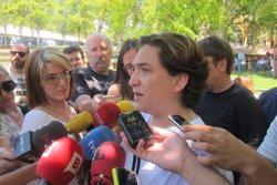 Ada Colau mostra la consternació i la solidaritat de Barcelona amb Itàlia pel terratrèmol (EUROPA PRESS)