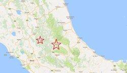 Renzi eleva a 120 el nombre de morts pel terratrèmol a Itàlia (EUROPA PRESS/ GOOGLE MAPS)