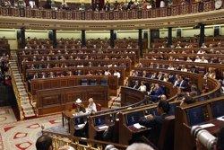 La Mesa del Congrés pretén tancar el repartiment d'escons a l'hemicicle, amb o sense acord dels grups (EUROPA PRESS)