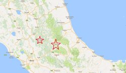 La fiscalia de Rieti obre una investigació per desastre dolós després del terratrèmol (EUROPA PRESS/ GOOGLE MAPS)