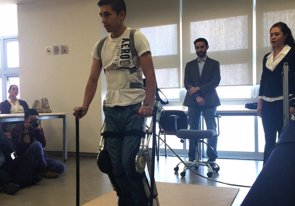 Desarrollan un exoesqueleto más barato para personas con lesiones medulares (ALPHAGALILEO)