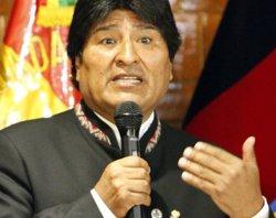 Morales atribueix a una conspiració la protesta en què han assassinat el viceministre (WIKIPEDIA)