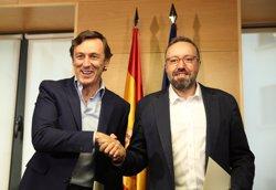 Hernando desitjaria que el pacte amb C's fos de Govern i diu que les diferències estan en Senat, Diputacions i CGPJ (EUROPA PRESS)