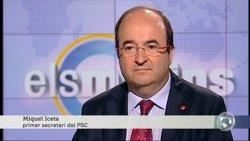 Iceta (PSC) anima Sánchez a explorar un acord de Govern alternatiu si Rajoy fracassa (TV3)