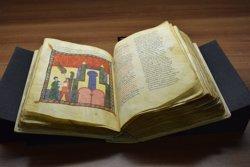 Restauren el manuscrit 'Beatus' d'Urgell (Lleida), un comentari de l'Apocalipsi del segle X (ALEX ALSINA/BISBAT D'URGELL)