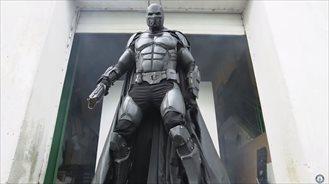 El traje de Batman que está en el libro de los recor Guinness