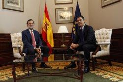 Rajoy es reunirà aquest dilluns amb Sánchez per demanar-li la seva abstenció (EUROPA PRESS)