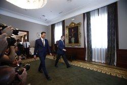 Sánchez, després de la seva trobada amb Rajoy: