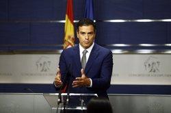 Sánchez diu que Rajoy seguirà tenint la responsabilitat de buscar la investidura tot i que fracassi divendres (EUROPA PRESS)