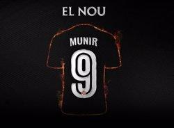 El Barcelona cedeix Munir al València una temporada amb opció de compra per 12 milions (VALENCIA CF)