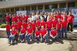 L'equip paralímpic espanyol viatja a Rio per ser
