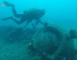 Troben una mina a Cala Tamariua (Girona) que podria ser de la II Guerra Mundial (GUARDIA CIVIL)