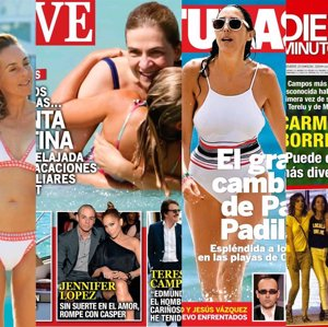 Las vacaciones de la Infanta Cristina, Rocío Carrasco en bikini y el amor de Sandra Barneda