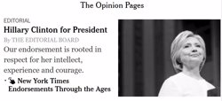'The New York Times' considera Trump com a
