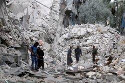 Avions sirians i russos bombardegen posicions recuperades pels rebels a Alep (REUTERS/ABDALRHMAN ISMAIL)