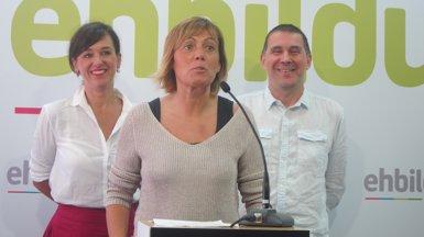 """EH Bildu insisteix al PNB que """"conflueixi"""" amb ells i Elkarrekin Podem (EUROPA PRESS)"""