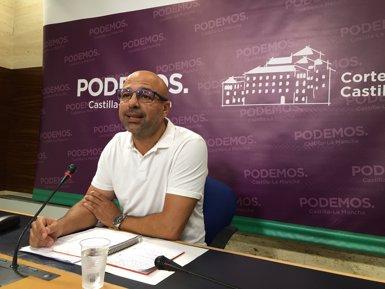 """Podem dóna """"per mort"""" l'acord d'investidura amb el PSOE que va donar la presidència de C-LM a García-Page (EUROPA PRESS)"""