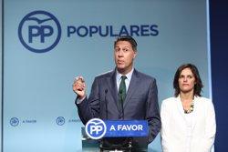 Albiol afirma que el PP dialogaria amb Puigdemont si proposa una reforma de la Constitució (EUROPA PRESS)