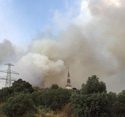 Successos.- Controlat l'incendi a la Serra de Collserola després de cremar 10 hectàrees (EUROPA PRESS)