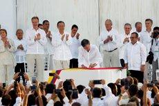 """Ban Ki-moon, a Colòmbia: """"Ja s'han salvat vides"""" (REUTERS)"""