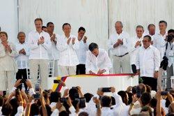 Ban Ki-moon, a Colòmbia: