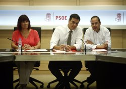 Pedro Sánchez assegura que no dimitirà si els crítics tomben el congrés al Comitè Federal (EUROPA PRESS)