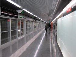 L'alcaldessa de l'Hospitalet diu que no acceptarà l'obertura de la Línia 10 de Metro per fases (EUROPA PRESS)
