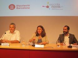 La Diputació de Barcelona se suma al projecte Escola Nova 21 que tindrà mig miler d'escoles (EUROPA PRESS/REMITIDO)