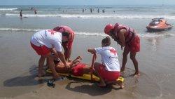 Creu Roja tanca la temporada de platges a Catalunya amb 18.000 assistències (CRUZ ROJA ESPAÑOLA)