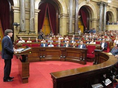 """Puigdemont a la CUP: """"O s'aproven els Pressupostos o convocaré eleccions"""" (EUROPA PRESS)"""