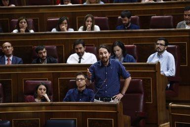 """Pablo Iglesias surt en defensa de Sánchez i titlla de """"frau"""" que vulguin """"fer-lo caure"""" amb dimissions (EUROPA PRESS)"""