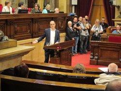 Turull (JxSí) defensa la legitimitat per al referèndum i demana estabilitat a la CUP (EUROPA PRESS)