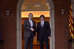 Puigdemont i Rajoy coincidiran aquest divendres en un acte a Porto però no preveuen reunir-se (EUROPA PRESS)
