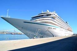 El Port de Tarragona rep per segona vegada el creuer Crystal Symphony, amb mil passatgers (PUERTO DE TARRAGONA)