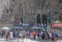 Catalunya rep 12,58 milions de turistes estrangers fins a l'agost, un 4,3% més (EUROPA PRESS)