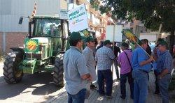 Marxa de tractors a Lleida contra les retallades en ajudes a ramaders de muntanya (EUROPA PRESS)