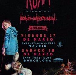 Korn actuaran el març del 2017 a Madrid i Barcelona (LIVE NATION)