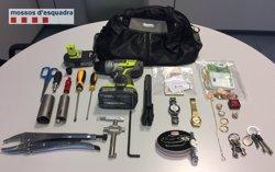 Cinc detinguts per robatoris en habitatges a Berga i Abrera (MOSSOS D'ESQUADRA)