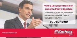 El PSC de Terrassa anul·la l'autocar per anar a donar suport a Sánchez per
